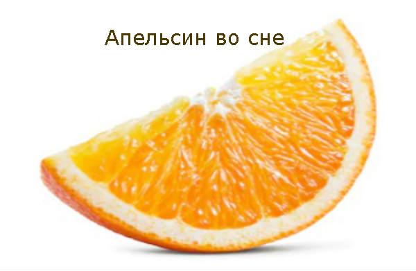 Апельсин во сне