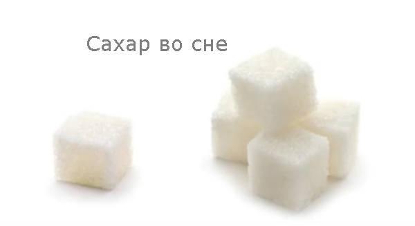 Сахар во сне